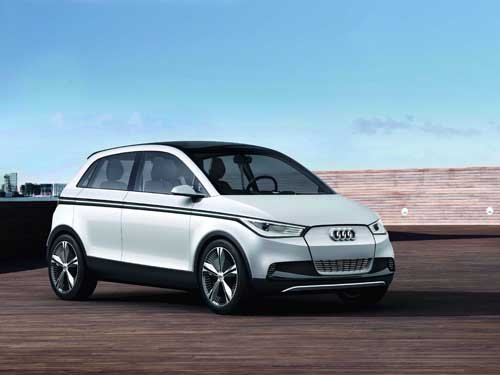 "Audi A2 Concept Car Poster Print on 10 mil Archival Satin Paper 36"" x 24"""