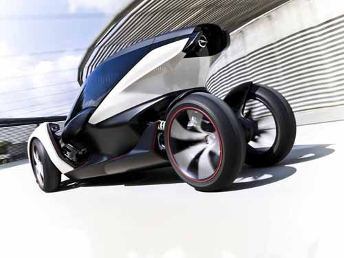 "Opel RAK e Concept (2011) Car Poster Print on 10 mil Archival Satin Paper 24"" x 18"""