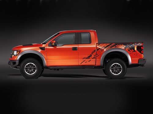 "Ford F150 SVT Raptor Price Truck Poster Print on 10 mil Archival Satin Paper 24"" x 18"""