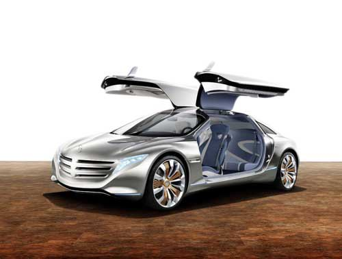 """Mercedes-Benz F 125! Concept Car Poster Print on 10 mil Archival Satin Paper 24"""" x 18"""""""