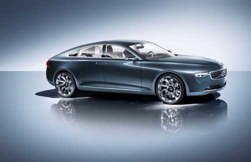 """Volvo Concept You Car Poster Print on 10 mil Archival Satin Paper 24"""" x 16"""""""