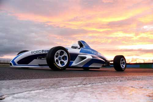 """Ford Formula Car Poster Print on 10 mil Archival Satin Paper 24"""" x 18"""""""