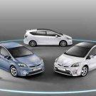 "Toyota Prius Hybrid Car Poster Print on 10 mil Archival Satin Paper 16"" x 12"""