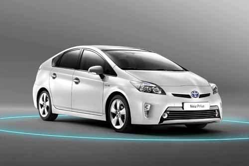 "Toyota Prius Hybrid Car Poster Print on 10 mil Archival Satin Paper 24"" x 16"""