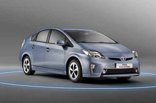 "Toyota Prius Hybrid Car Poster Print on 10 mil Archival Satin Paper 30"" x 20"""