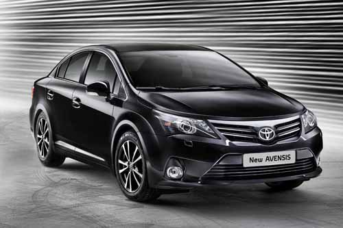 """Toyota Avensis (2012) Car Poster Print on 10 mil Archival Satin Paper 16"""" x 12"""""""