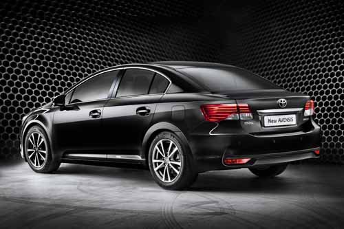 """Toyota Avensis (2012) Car Poster Print on 10 mil Archival Satin Paper 24"""" x 16"""""""