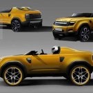 """Land Rover DC100 Sport Concept Car Poster Print on 10 mil Archival Satin Paper 36"""" x 24"""""""