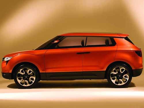 """SsangYong XIV-1 Concept Car Poster Print on 10 mil Archival Satin Paper 24"""" x 16"""""""