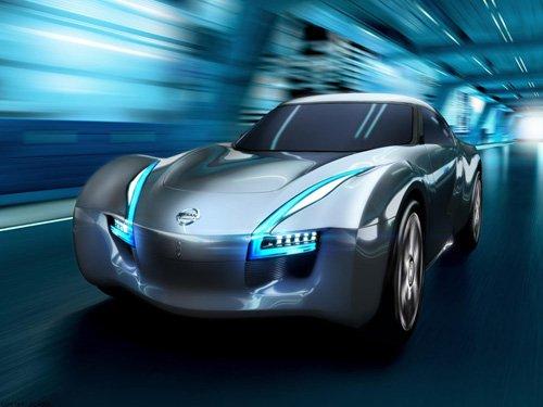 "Nissan ESFLOW Concept Car Poster Print on 10 mil Archival Satin Paper 24"" x 18"""