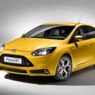 "Ford Focus ST Car Poster Print on 10 mil Archival Satin Paper 24"" x 18"""