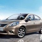 """Nissan Sunny Car Poster Print on 10 mil Archival Satin Paper 16"""" x 12"""""""