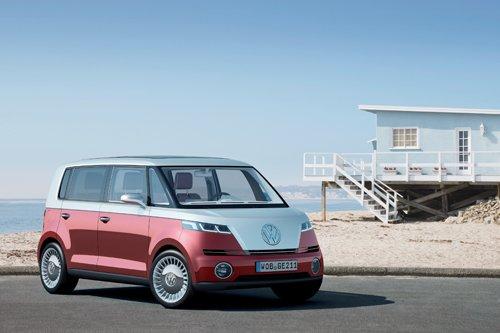 "Volkswagen Bulli Concept Car Poster Print on 10 mil Archival Satin Paper 24"" x 18"""
