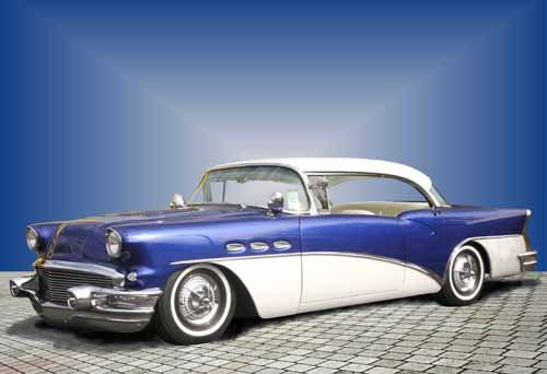 "Buick Special (1956) Custom Car Poster Print on 10 mil Archival Satin Paper 30"" x 20"""