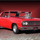 "Chevrolet Chevelle Malibu (1964) Car Poster Print on 10 mil Archival Satin Paper 32"" x 24"""