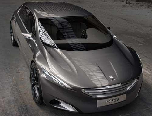 "Peugeot HX1 Concept Car Poster Print on 10 mil Archival Satin Paper 32"" x 24"""