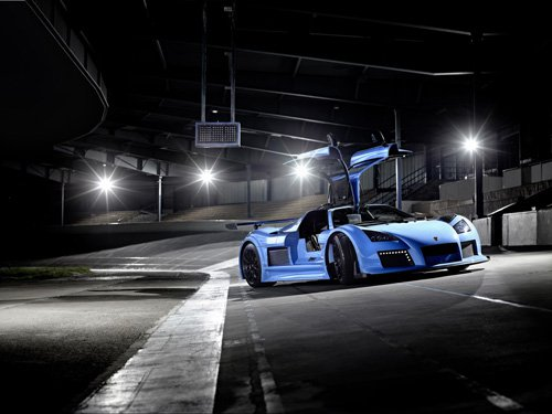 "Gumpert Apollo S Car Poster Print on 10 mil Archival Satin Paper 20""x15"""