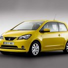 "Seat Mii (2012) Car Poster Print on 10 mil Archival Satin Paper 16"" x 12"""