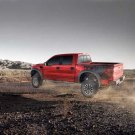 "Ford F150 SVT Raptor (2012) Truck Poster Print on 10 mil Archival Satin Paper 16""x12"""
