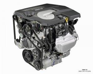 "Chevrolet 3900 3.9L V6 LZ9 Engine Car Poster Print on 10 mil Archival Satin Paper 32"" x 24"""