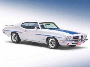 "Pontiac LeMans GT (1972) Car Poster Print on 10 mil Archival Satin Paper 24"" x 18"""