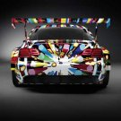 "BMW M3 GT2 Art Car Poster Print on 10 mil Archival Satin Paper 24"" x 18"""
