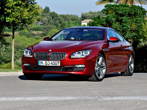 """BMW 6 Series Coupe Car Poster Print on 10 mil Archival Satin Paper 24"""" x 18"""""""