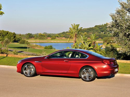 """BMW 6 Series Coupe Car Poster Print on 10 mil Archival Satin Paper 36"""" x 24"""""""