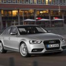 "Audi A4 (2012) Car Poster Print on 10 mil Archival Satin Paper 16"" x 12"""