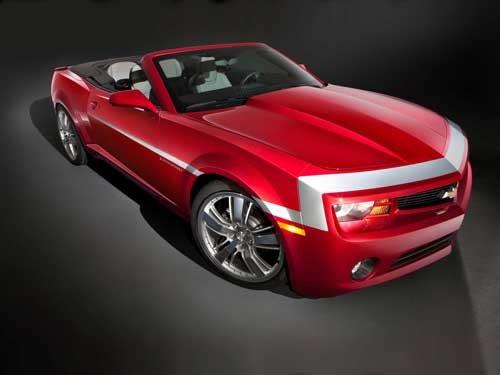 "Chevrolet Camaro Red Zone Concept Car Poster Print on 10 mil Archival Satin Paper 16"" x 12"""