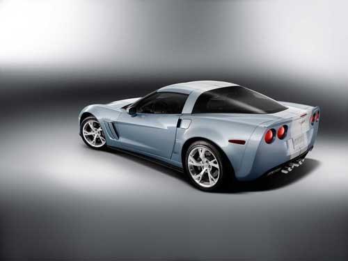 "Chevrolet Corvette Grand Sport Concept Car Poster Print on 10 mil Archival Satin Paper 16"" x 12"""