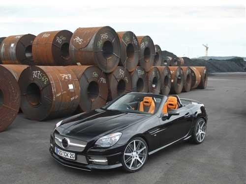 "Carlsson Mercedes-Benz SLK Car Poster Print on 10 mil Archival Satin Paper 20"" x 15"""