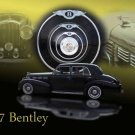 "Bentley 4-Door Sedan (1937) Car Poster Print on 10 mil Archival Satin Paper 36"" x 24"""