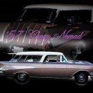 "Chevrolet Nomad (1957) Car Poster Print on 10 mil Archival Satin Paper 16"" x 12"""