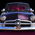 "Ford (1950) Car Poster Print on 10 mil Archival Satin Paper 16"" x 12"""