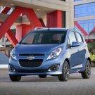 "Chevrolet Spark (2012) Car Poster Print on 10 mil Archival Satin Paper 16"" x 12"""