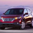 "Honda CR-V (2012) Car Poster Print on 10 mil Archival Satin Paper 24"" x 18"""