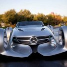 "Mercedes-Benz Silver Arrow Concept Car Poster Print on 10 mil Archival Satin Paper 16"" x 12"""