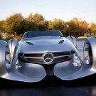 "Mercedes-Benz Silver Arrow Concept Car Poster Print on 10 mil Archival Satin Paper 20"" x 15"""