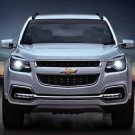 "Chevrolet TrailBlazer (2013) Car Poster Print on 10 mil Archival Satin Paper 16"" x 12"""