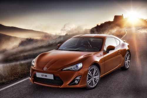 """Toyota GT 86 Car Poster Print on 10 mil Archival Satin Paper 24"""" x 18"""""""