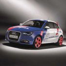 "Audi A1 SAMURAI BLUE Car Poster Print on 10 mil Archival Satin Paper 16"" x 12"""