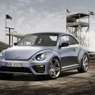 "Volkswagen Beetle R Concept Car Poster Print on 10 mil Archival Satin Paper 16"" x 12"""