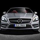 "Mercedes-Benz SL (2012) Car Poster Print on 10 mil Archival Satin Paper 20"" x 15"""