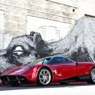 "Pagani Huayra Car Poster Print on 10 mil Archival Satin Paper 24"" x 18"""
