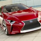 "Lexus LF-LC Sports Coupe Concept Car Poster Print on 10 mil Archival Satin Paper 36"" x 24"""