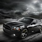 "Dodge Charger Blacktop Edition (2012) Car Poster Print on 10 mil Archival Satin Paper 16"" x 12"""