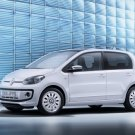 "Volkswagen up! 5-Door (2013) Car Poster Print on 10 mil Archival Satin Paper 20"" x 15"""