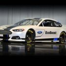 """Ford Fusion NASCAR Sprint Cup Car Poster Print on 10 mil Archival Satin Paper 20"""" x 15"""""""