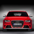 "Audi RS4 Avant Car Poster Print on 10 mil Archival Satin Paper 36"" x 24"""